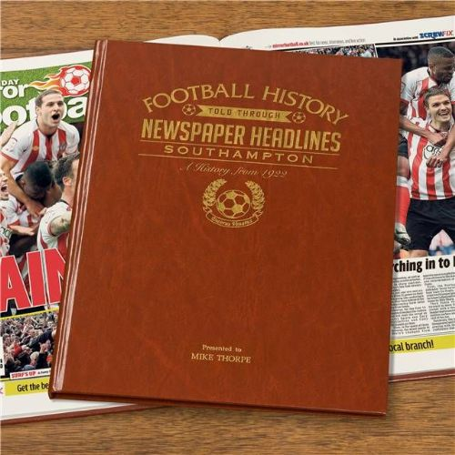 Personalised Southampton Football Book